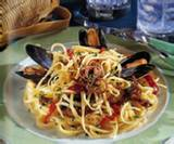 Spaghetti With Mussels And  Calamari
