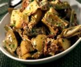 Artichokes With New Potatoes